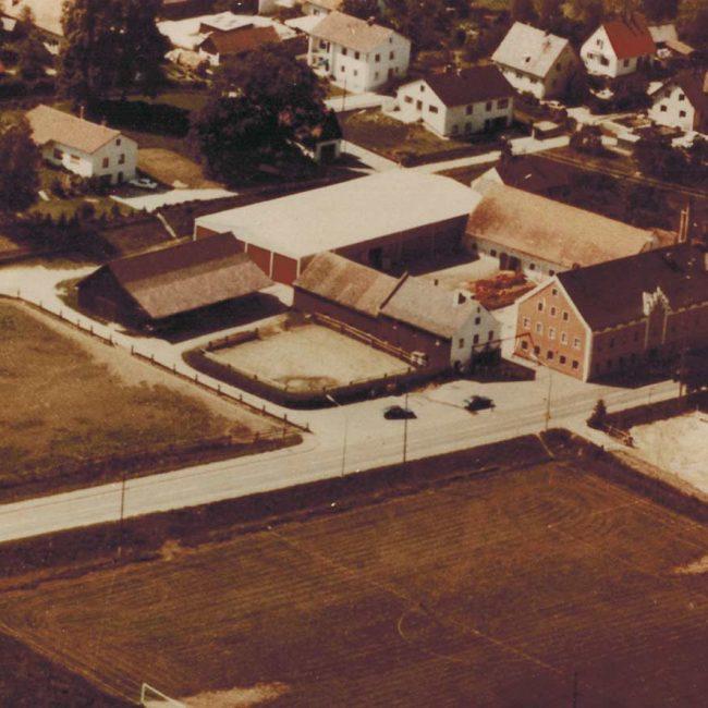 Luftbild um ca. 1980