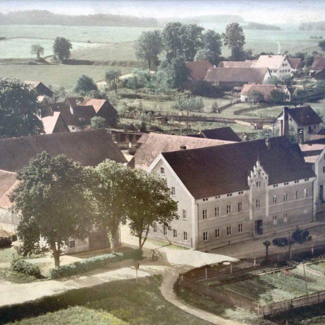 Luftbild ca. um 1950